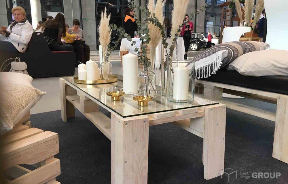Eco stół – niski, wąski