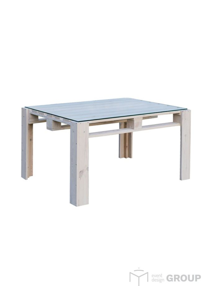 Eco stół – wysoki, szeroki