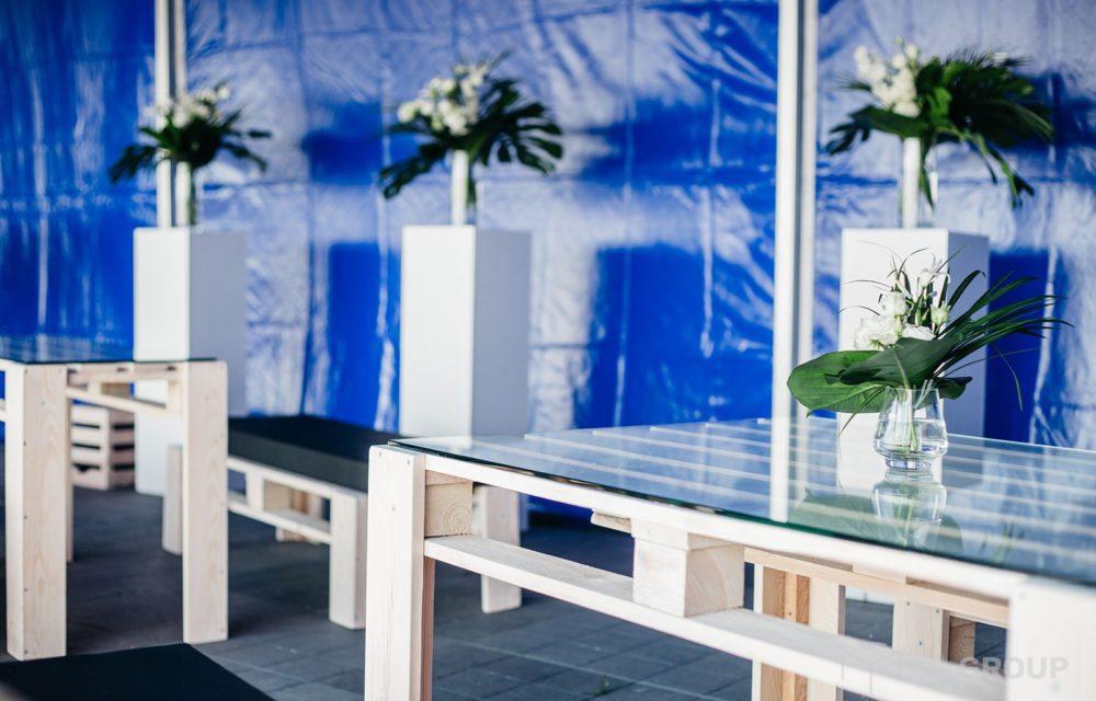Eco stół – wysoki, wąski