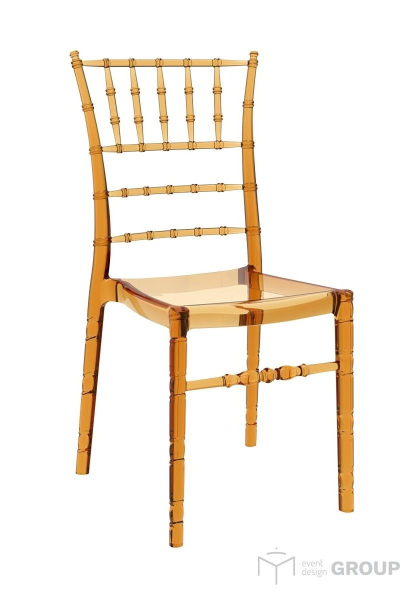 Krzesło bursztynowe Chiavari