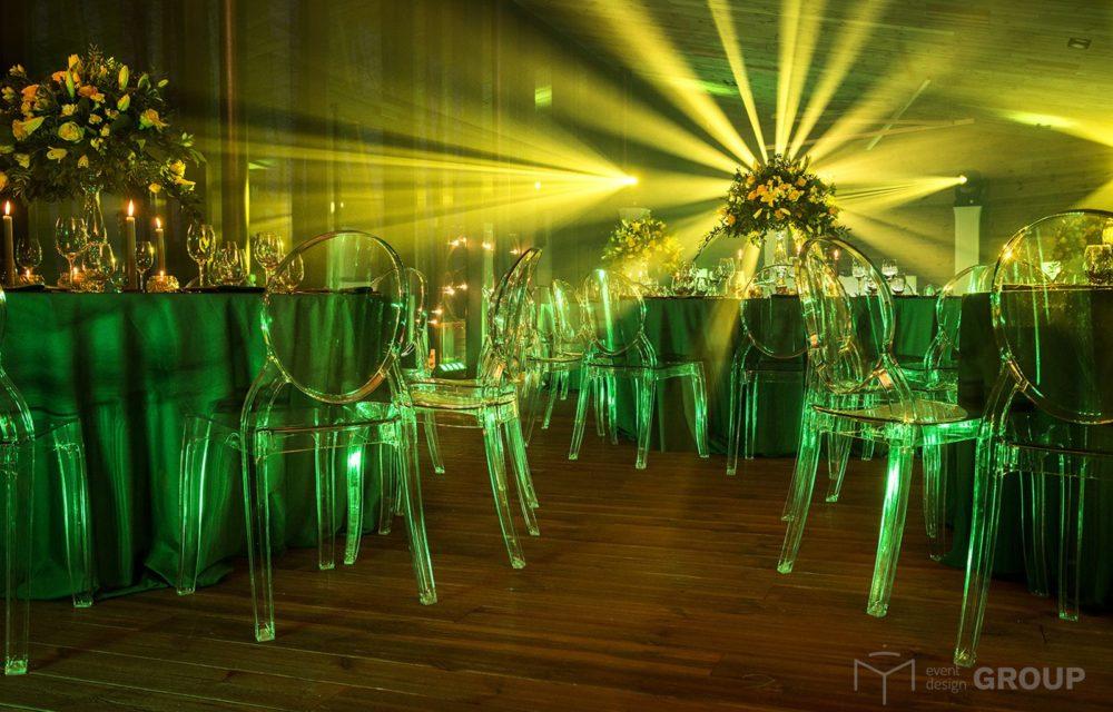 Krzesło transparentne