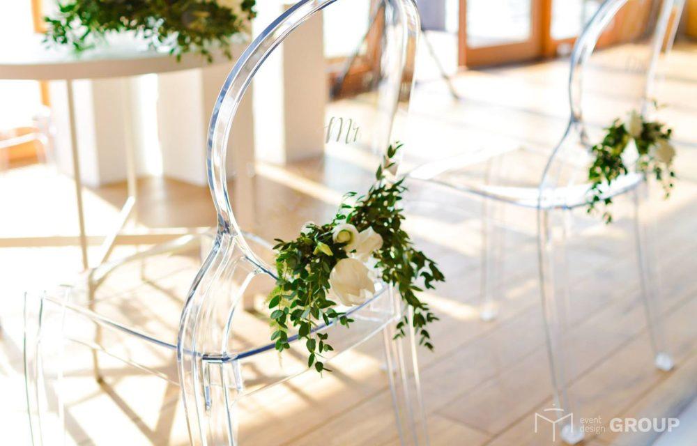 Krzesło transparentne - Wypożyczalnia krzeseł