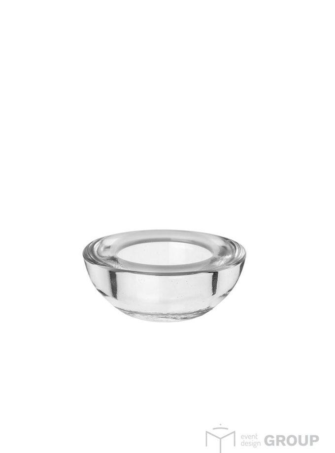 Świecznik szklany - tealight