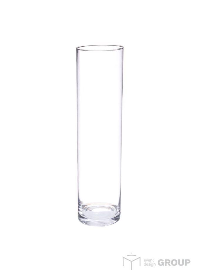 Wazon szklany – tuba wysoka