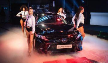 Organizacja premier samochodowych. Klient: Toyota  MIR-WIT, Olsztyn