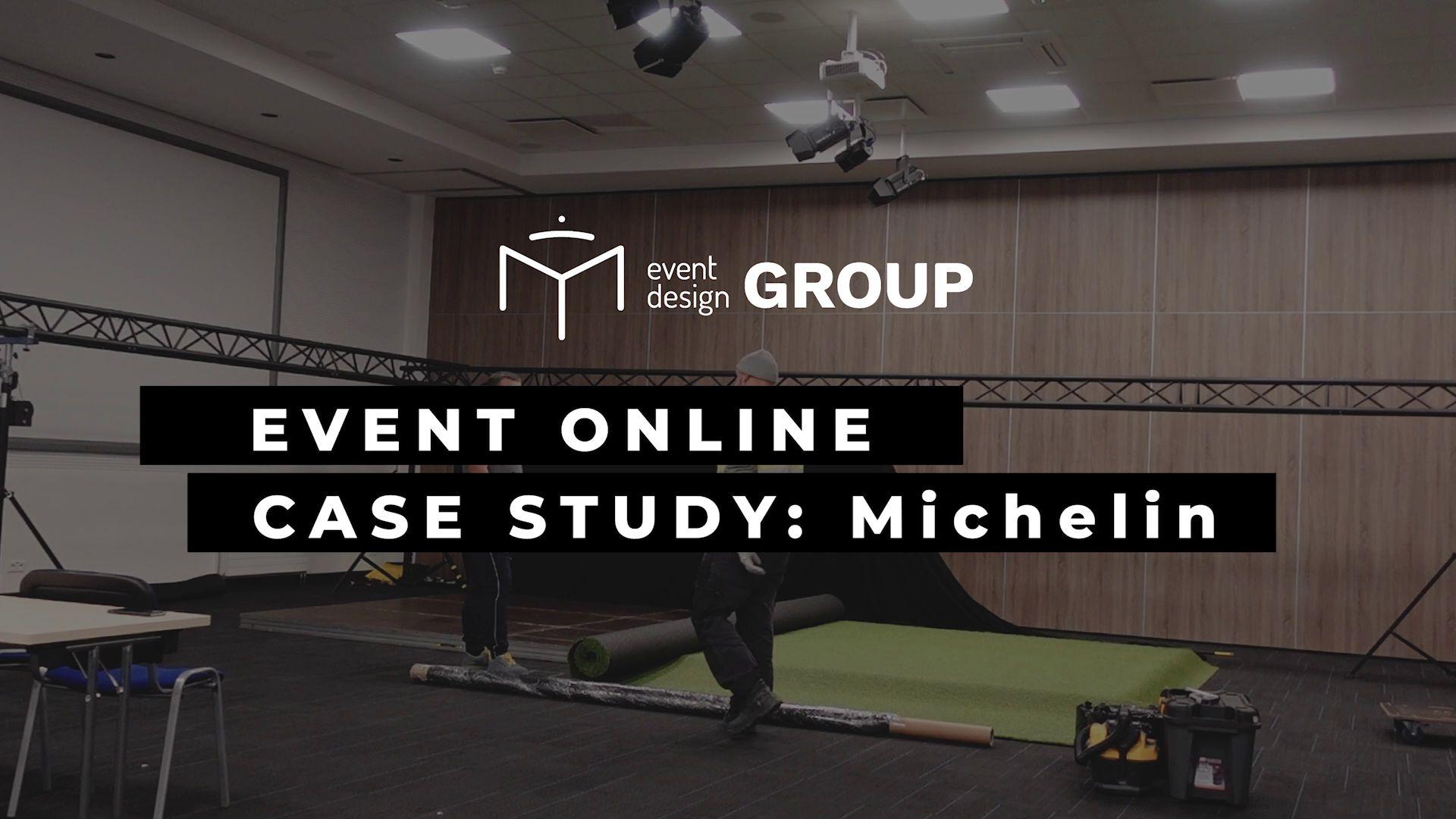 Organizacja eventu ONLINE 'Michelin. LTE Meeting 2021'