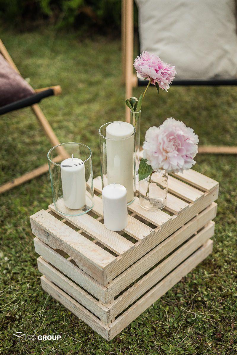 Skrzynka drewniana – Wynajem mebli